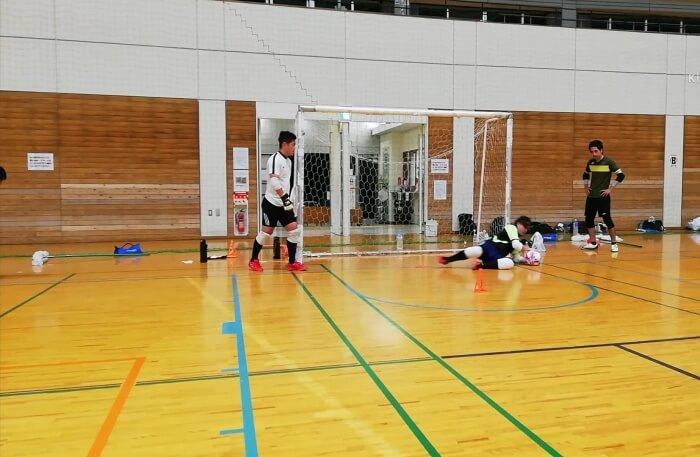 GKゴレイロトレーニング